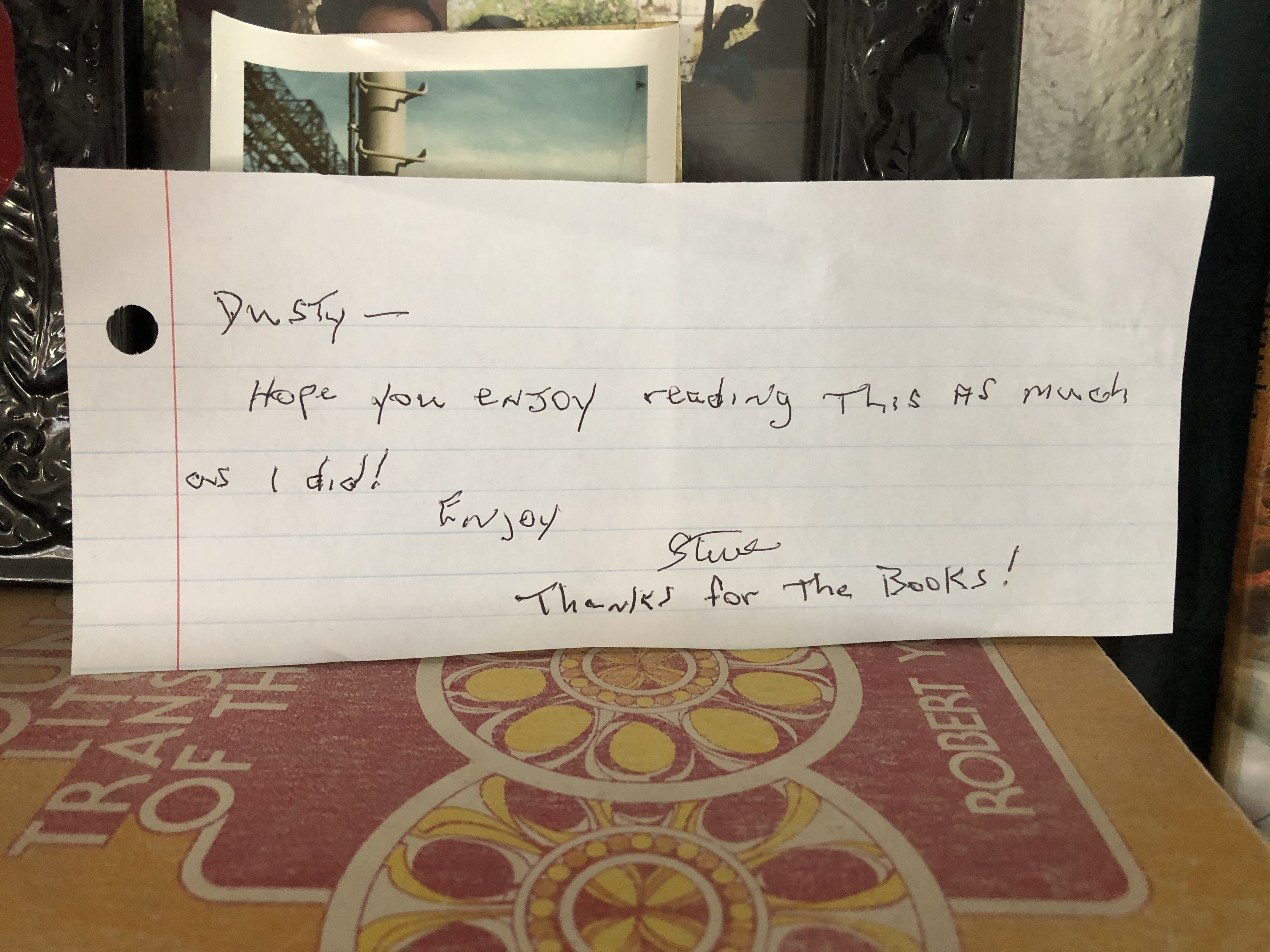 dads note